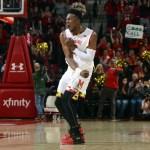 Behind Fernando's dominant night, Terps top Rutgers