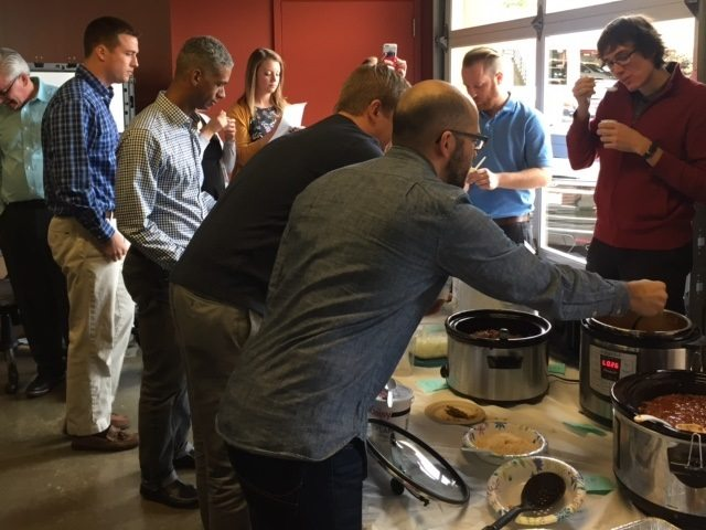 The Great Chili Cook Off of 2016