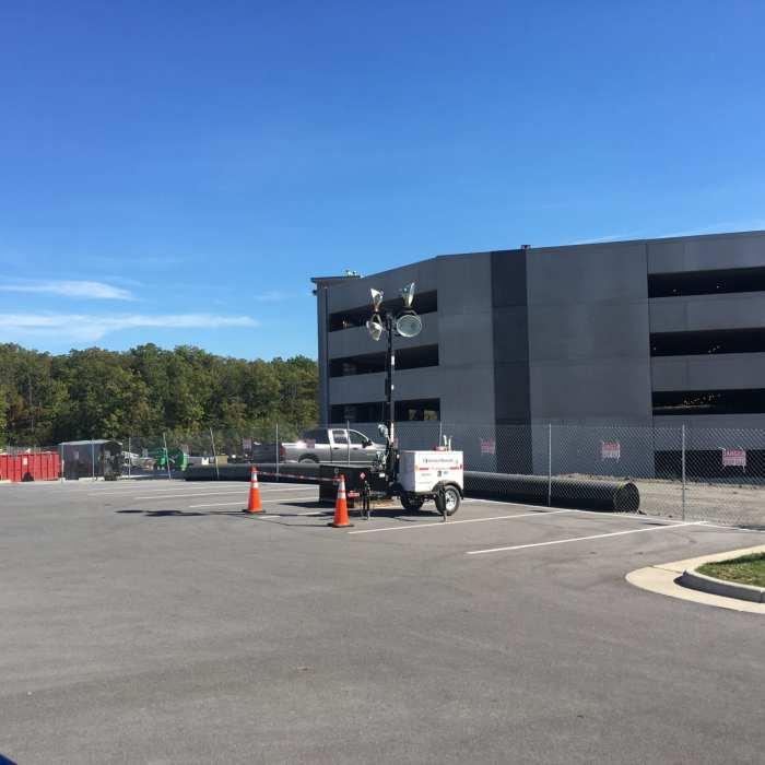 NFCU Winchester Campus Parking Garage