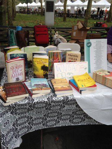 Brooklyn Book Fest Booth Books