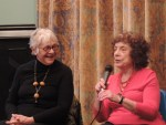 (left to right) Estelle Parsons and Lynne Sharon Schwartz