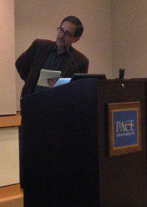 Moderator, Andrew Revkin