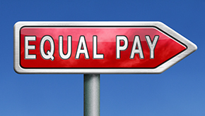Equal Pay sign
