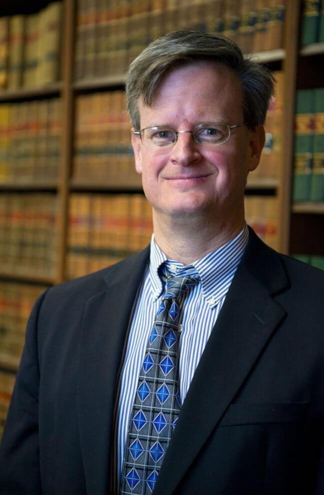 A photo of Waynesville, NC attorney, Brian P. Schaefer.
