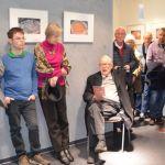 """Schaumberg: Fotoausstellung """"Eispfützen"""" von Hermann Backes wurde eröffnet"""