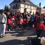 Faschingsumzug in St. Wendel – Strahlender Sonnenschein und bunte Kostüme in der Innenstadt