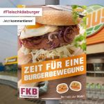 We support the Fleischkäsburger