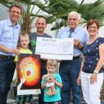St. Wendel: Großzügige Spende für krebskranke Kinder