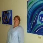 Carmen Müller-Kutsch zeigt Bilder im Rathaus