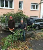 Niederlinxweiler: CDU war in Sachen Dorfverschönerung unterwegs