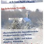 Bergweiler: Adeventsmakrt an der Erasmus-Kapelle