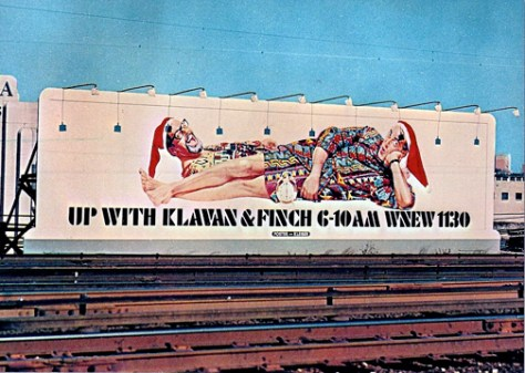 Klavan and Finch billboard