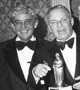Williams and Sinatra at Friar's Club