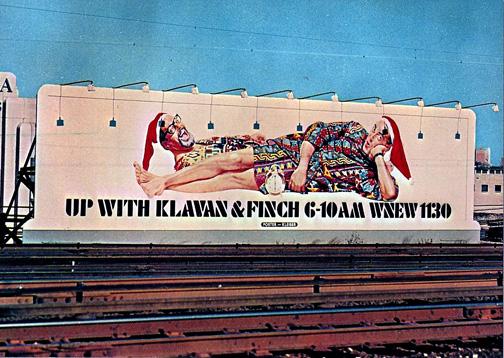 Klavan and Finch billboard