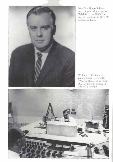 NYC radio sullivan and WBW