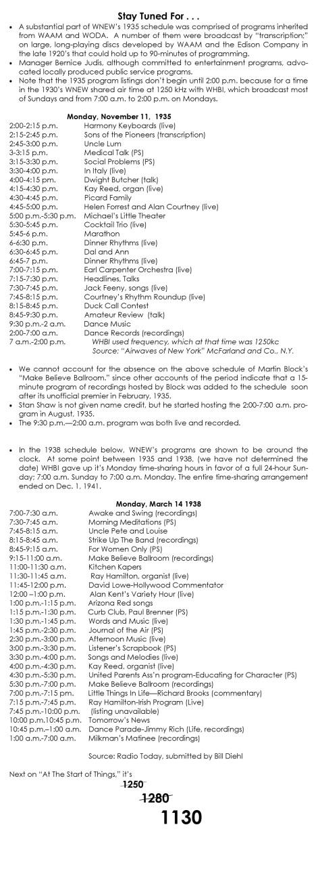 start of things V-program list revised.pub