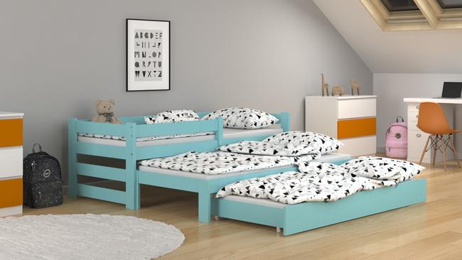lit gigogne paul trio avec tiroir lit d appoint