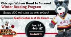 Chicago Wolves Winter Reading Program