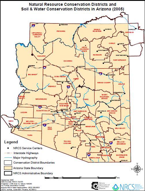 About | Winkelman Natural Resource Conservation District