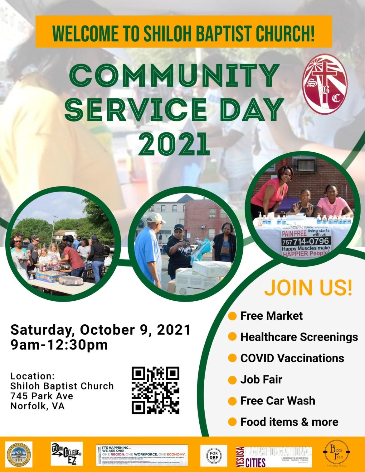 Shiloh Baptist Community Service Day