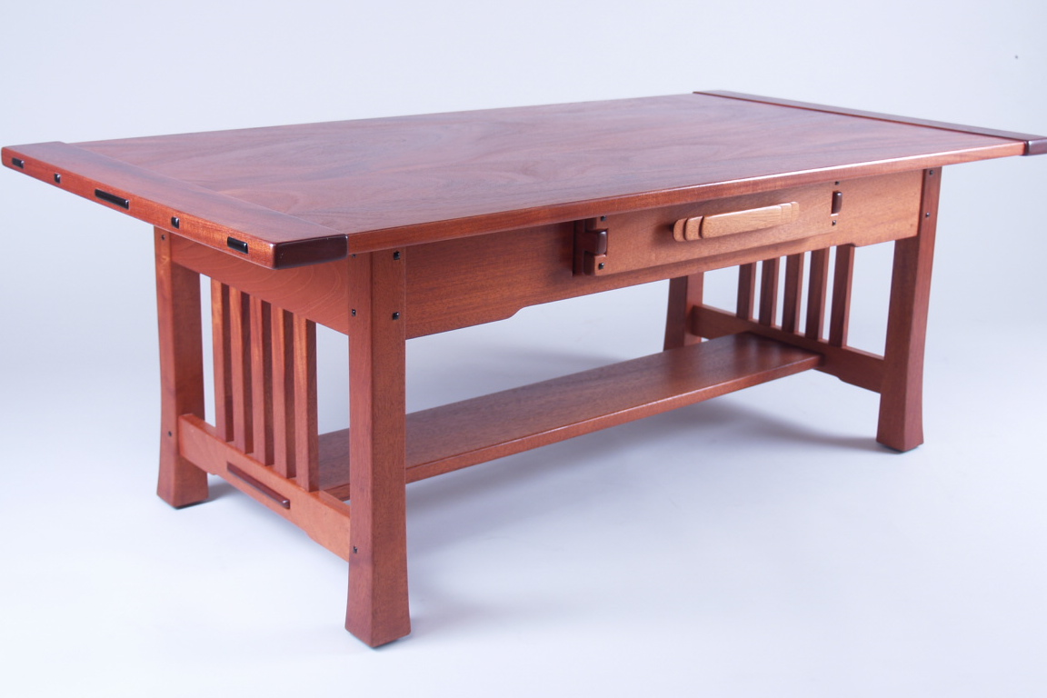 Greene & Greene Inspired Coffee Table
