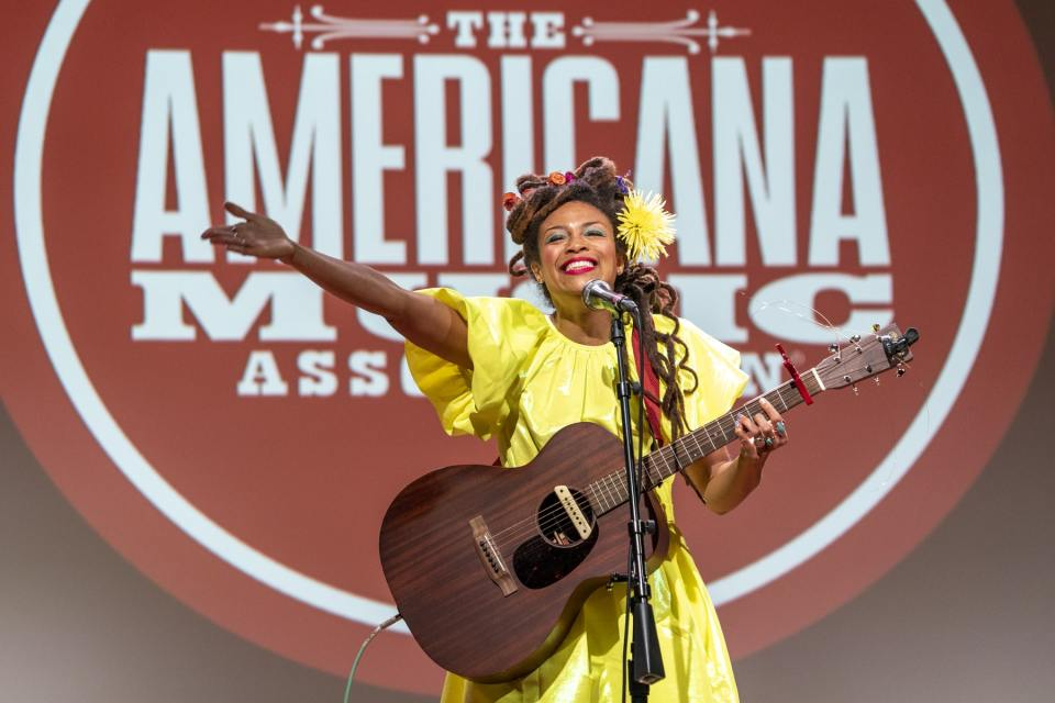 Valerie June at 2021 Americana Honors & Awards Nomination Ceremony