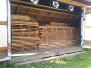 Here's Our Second Load of Kiln-Dried Lumber
