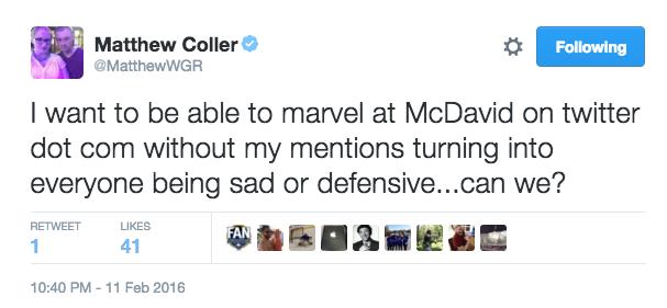 Sabres Fans Should Enjoy McDavid by @BradleyGelber