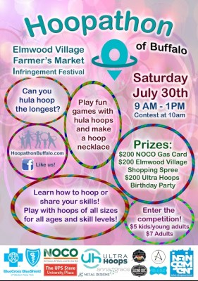 hoopathon buffalo july 30 postcard