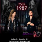 COMING TO EVENING STAR WEDNESDAY 9.30.20 MICHAEL SWEET & TONY HARNELL!