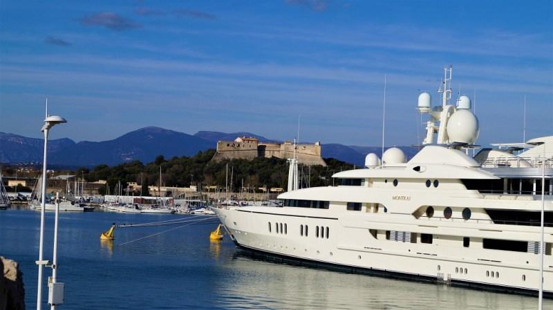 Yachthafen von Antibes