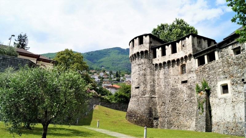 Castello Visconteo in Locarno, am Lago Maggiore