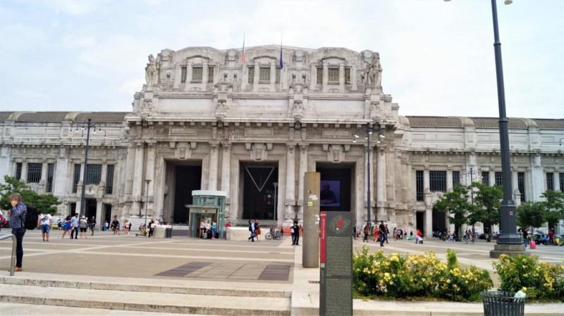 Stazione di Milano Centrale - der Hauptbahnhof von Milano