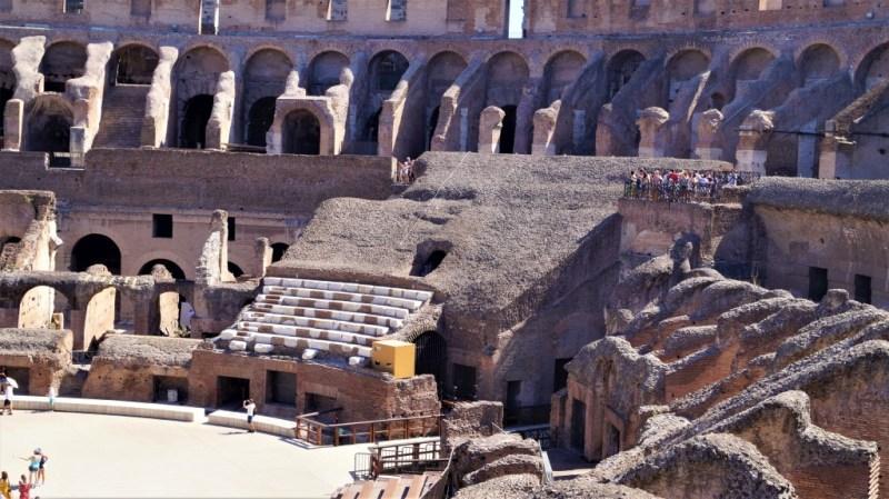 gigantisches Kolosseum in Rom