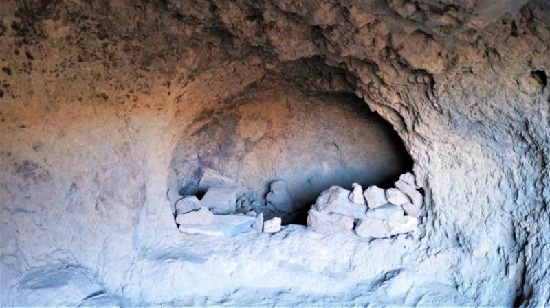 Die Höhlen von Ansite waren der Rückzugsort der Guanchen