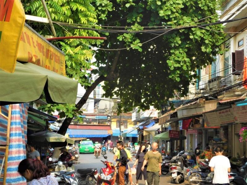 Markt in Alt-Hanoi