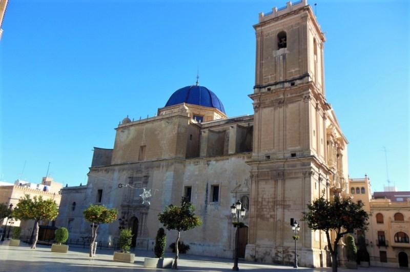 Basilica Santa Maria in Elche.