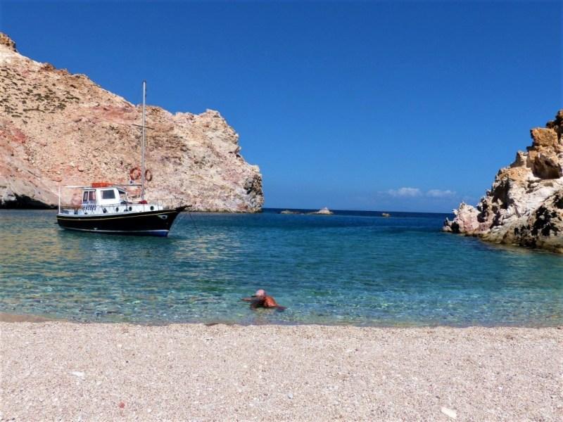 Kaiki ist ein griechisches Fischerboot
