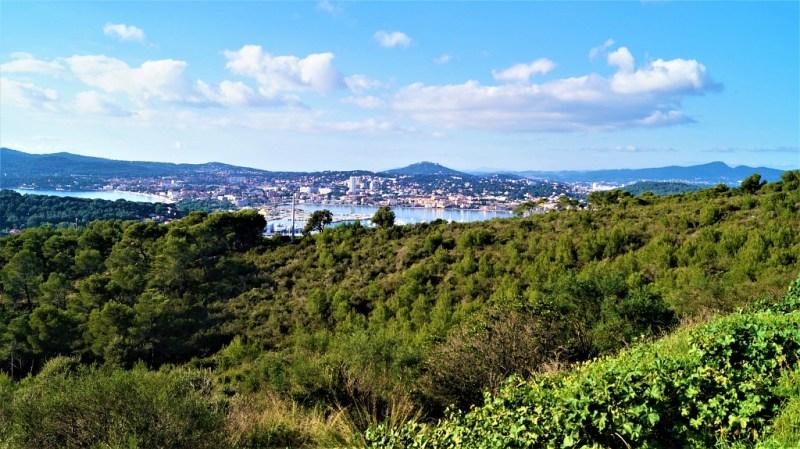 Hafen von Saint-Mandrier-sur-Mer in Frankreich