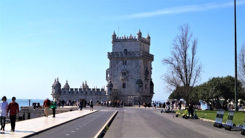 Turm von Belem in Lissabon