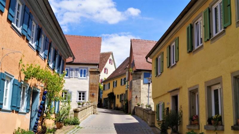 Kirchberg an der Jagst Altstadt