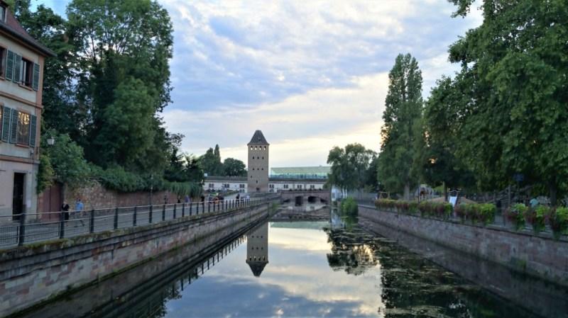 alte Stadtmauer von Straßburg