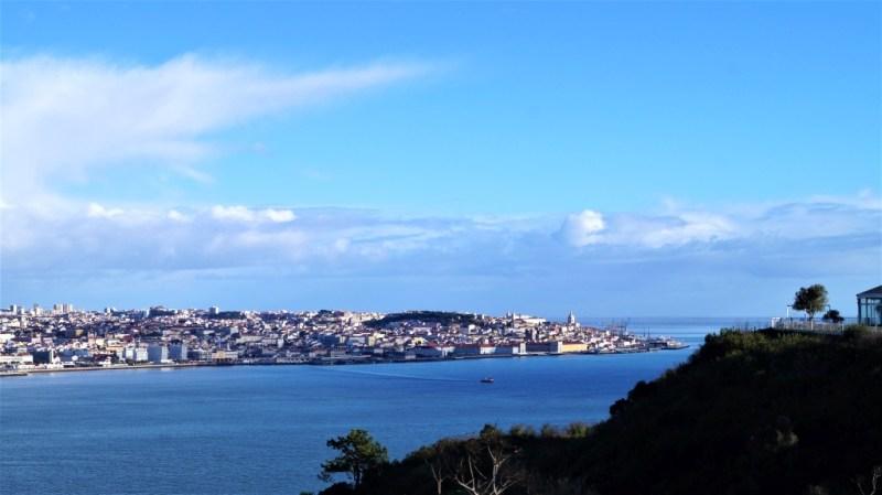Der Tejo vor Lissabon