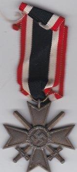 Kriegsverdienstkreuz mit Schwertern 1939