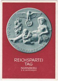 Postkaart Reichsparteitag 1939 Nurnberg