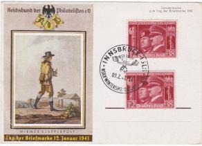 tag der briefmarke 12 januar 1941