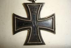 Duits ijzeren kruis wo1