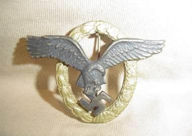 Duitse insigne luftwaffe wo2