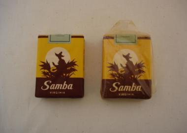 Samba sigaretten uit de tweede wereldoorlog wo2