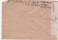 Gestapo envelop Paul Kühne uit Tilsit